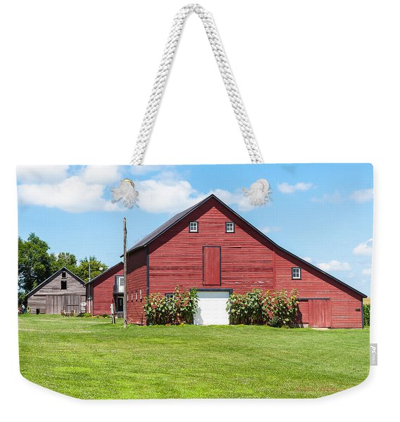 Sun Flower Barn Weekender Tote Bag