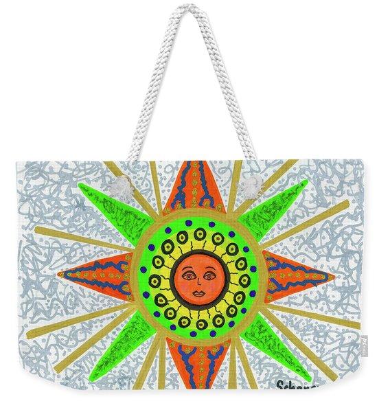 Sun Goddess Weekender Tote Bag