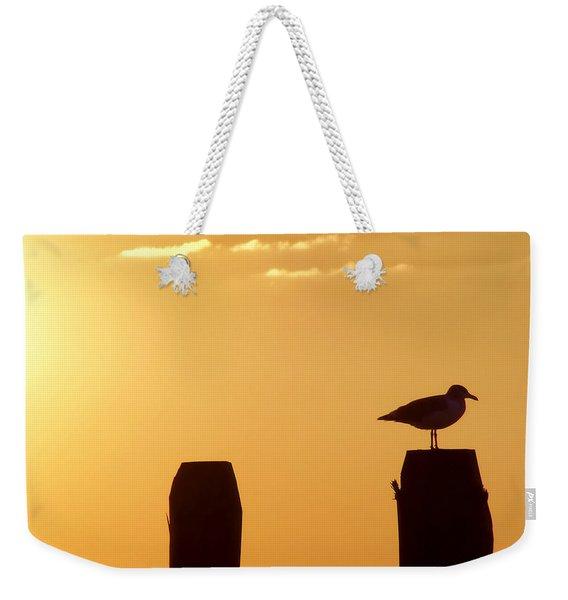 Sun Is Rising Weekender Tote Bag