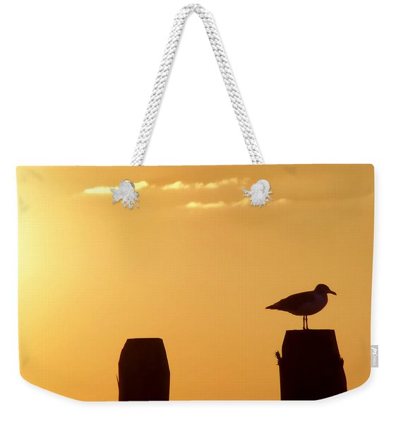 Weekender Tote Bag featuring the photograph Sun Is Rising by JAMART Photography