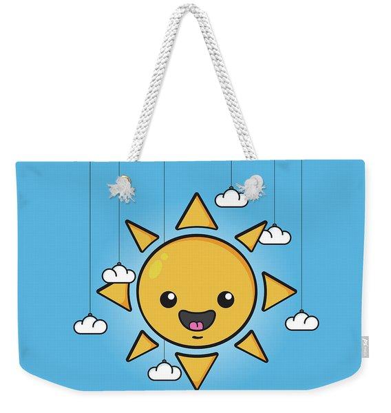 Sun Is Shining In The Sky Weekender Tote Bag