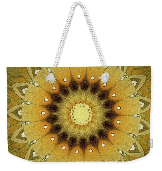 Sun Kaleidoscope Weekender Tote Bag