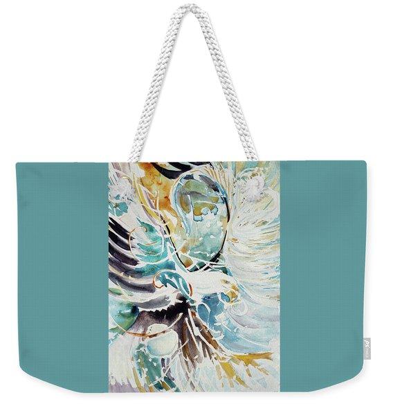 Sun Moon Water Sky Weekender Tote Bag