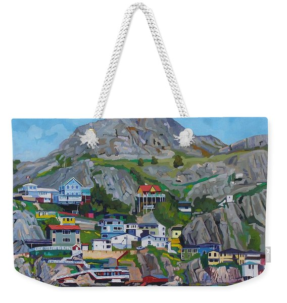 Sun Of The Battery Weekender Tote Bag