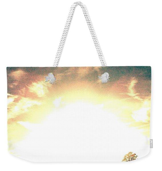 Sun Pyramid Weekender Tote Bag