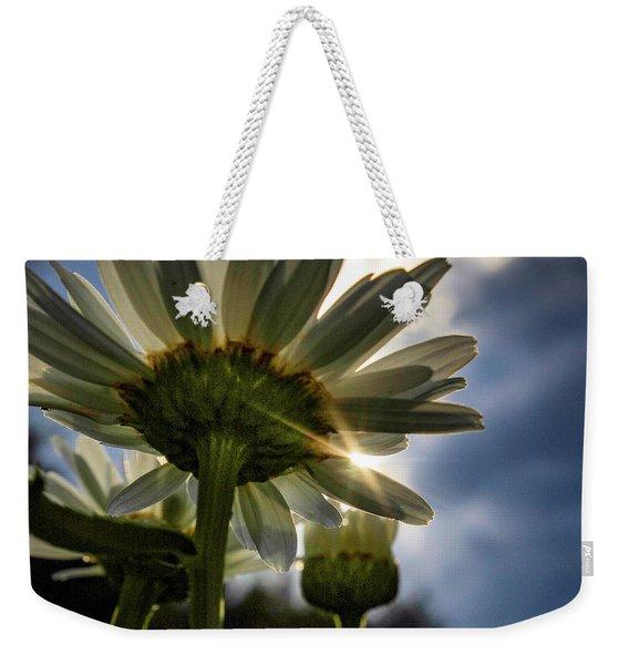 Sun Rain Weekender Tote Bag