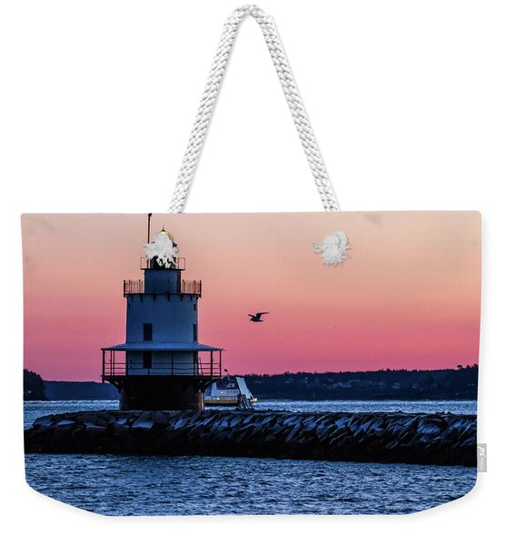 Sun Rise At Spring Point Weekender Tote Bag