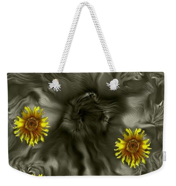 Sun Roses In The Deep Dark Forest Weekender Tote Bag