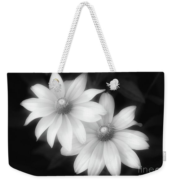 Sun Sisters In Black And White Weekender Tote Bag