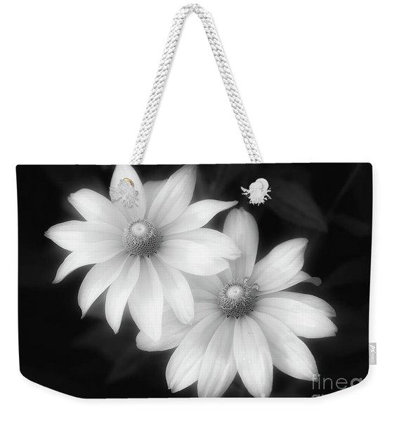 Sun Sisters In Black And White Weekender Tote Bag