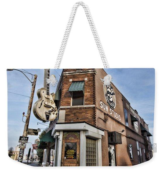 Sun Studio - Memphis #1 Weekender Tote Bag