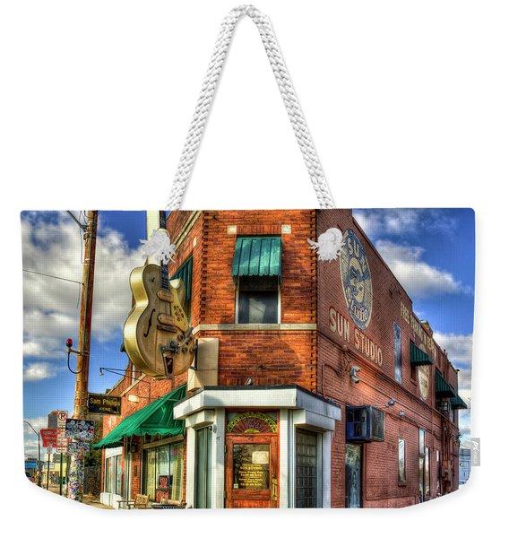 Sun Studio Rock N Roll Birthing Place Memphis Tennessee Art Weekender Tote Bag