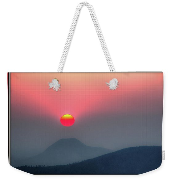 Sun Teed Up Weekender Tote Bag
