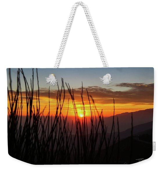 Sun Through The Blades Weekender Tote Bag
