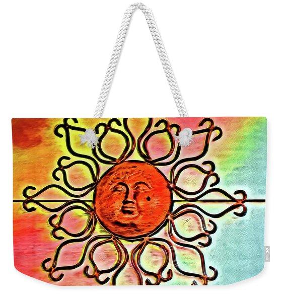 Sun Wall Decoration Weekender Tote Bag