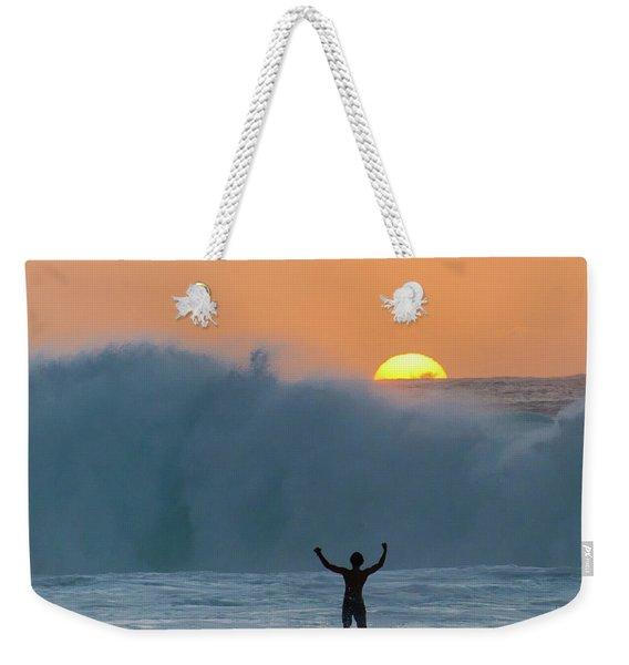 Sun Worship Weekender Tote Bag