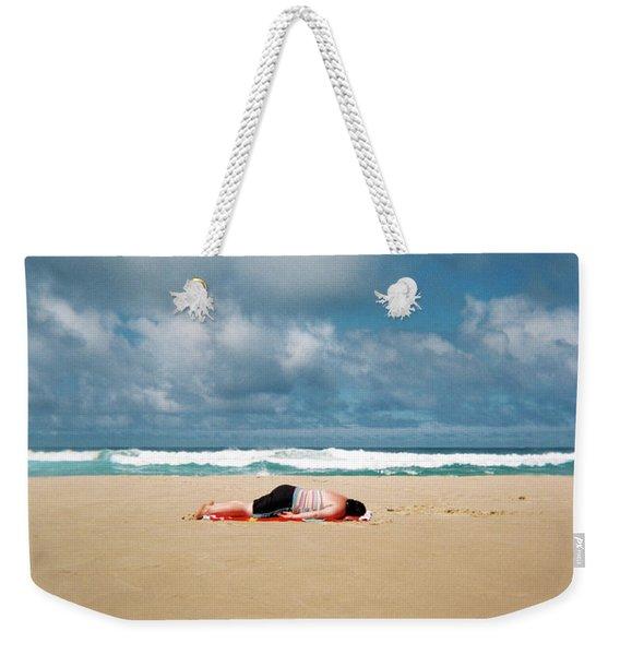 Sunbather Weekender Tote Bag