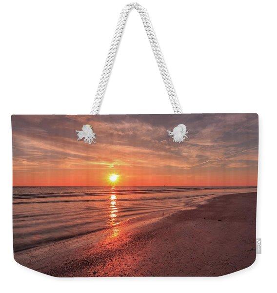 Sunburst At Sunset Weekender Tote Bag