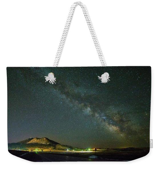 Sundance Milky Way Weekender Tote Bag