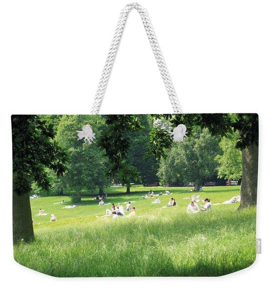 Sunday Afternoon At Waterlow Park Weekender Tote Bag