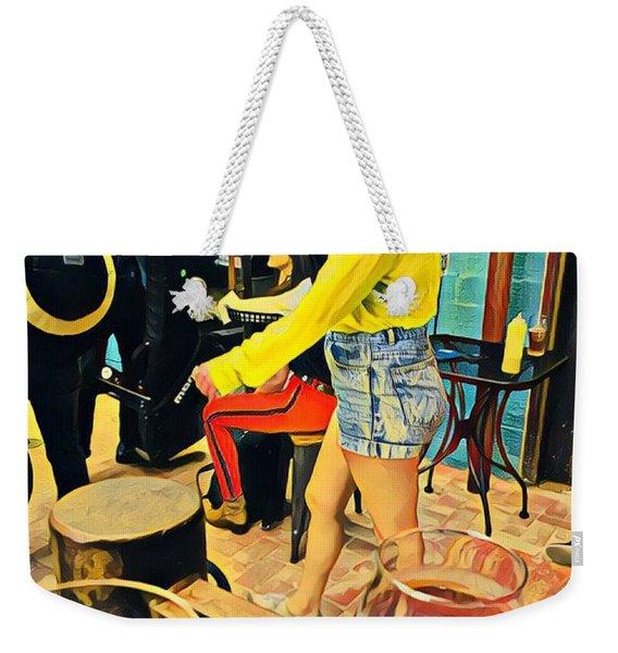 Sunday At Lazarus Weekender Tote Bag