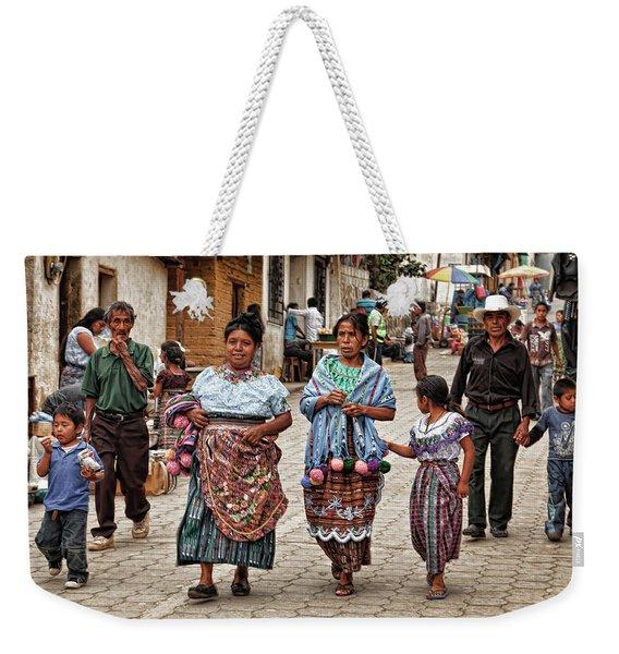Sunday Morning In Guatemala Weekender Tote Bag