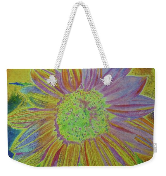 Weekender Tote Bag featuring the painting Sundelicious by Cris Fulton