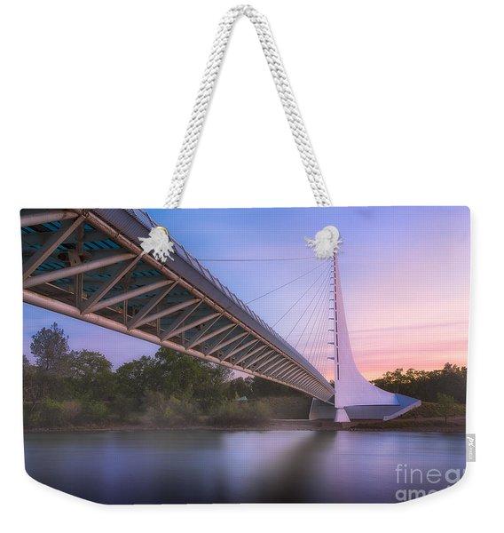 Sundial Bridge 6 Weekender Tote Bag