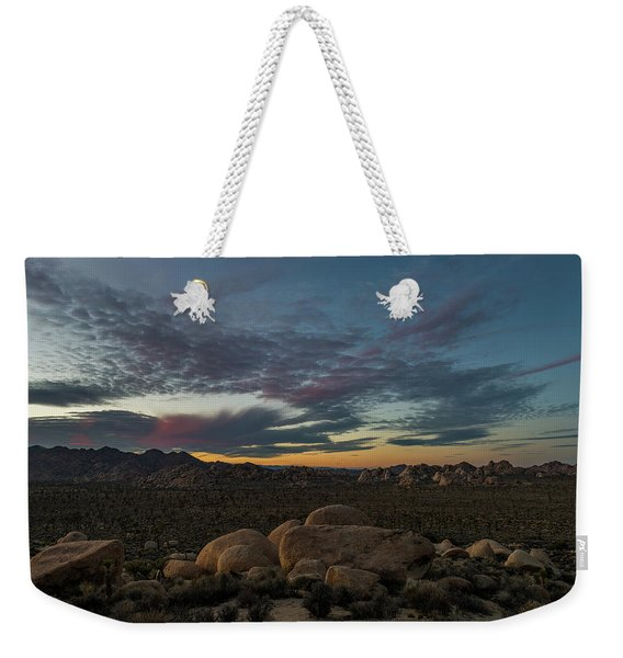 Sundown From Hilltop View Weekender Tote Bag