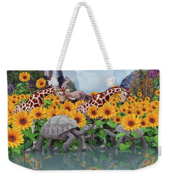 Sunflower Daydream II Weekender Tote Bag