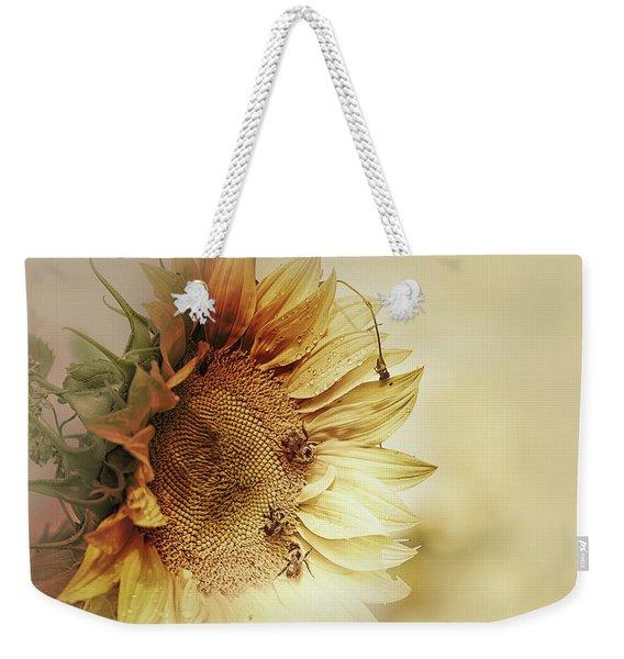 Sunflower Days Weekender Tote Bag