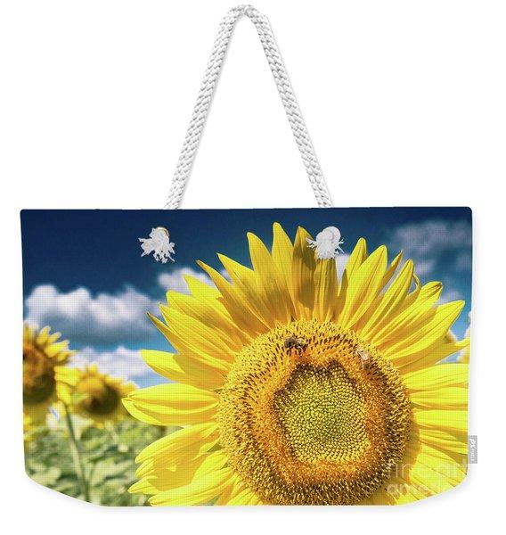 Sunflower Dreams Weekender Tote Bag