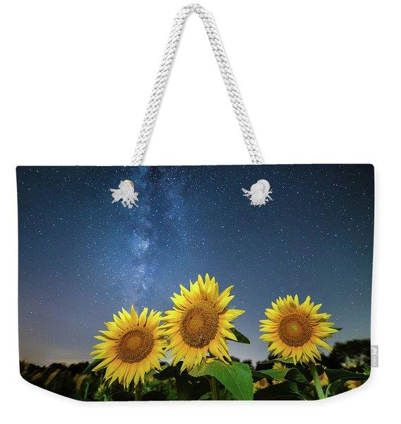 Sunflower Galaxy II Weekender Tote Bag
