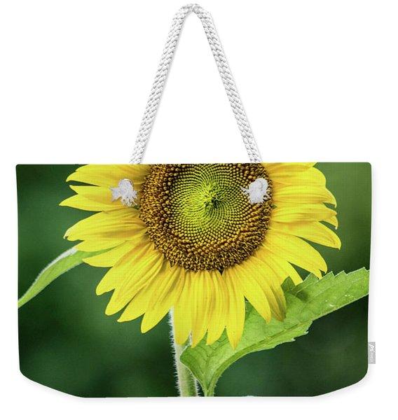 Sunflower In Bloom Weekender Tote Bag