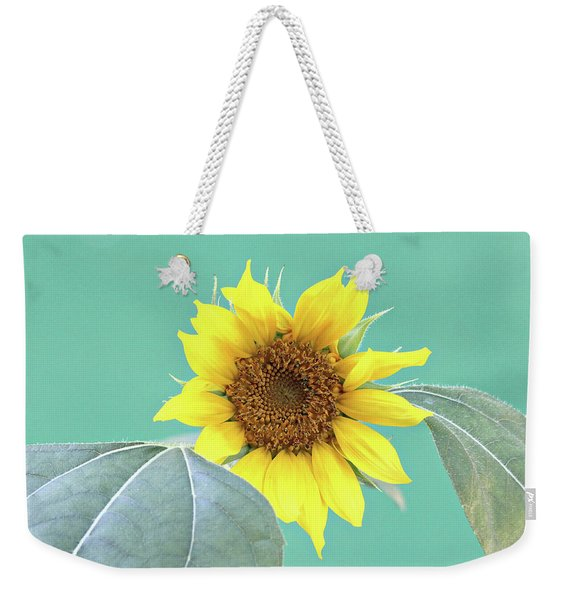 Sunflower In The Summer Time Weekender Tote Bag