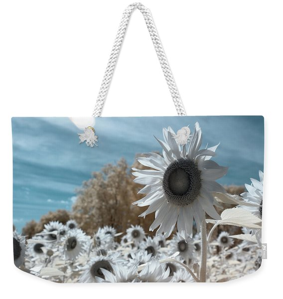 Sunflower Infrared  Weekender Tote Bag