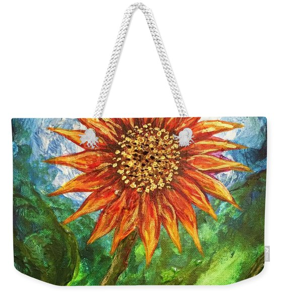 Sunflower Joy Weekender Tote Bag