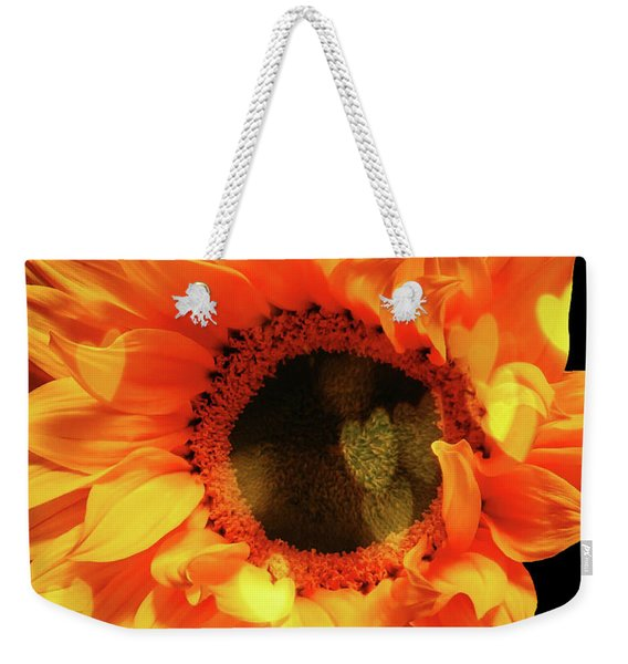 Sunflower Passion Weekender Tote Bag