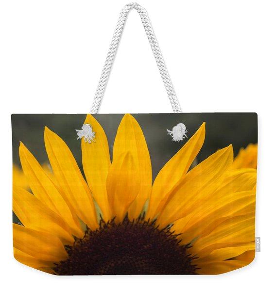 Sunflower Petals Weekender Tote Bag