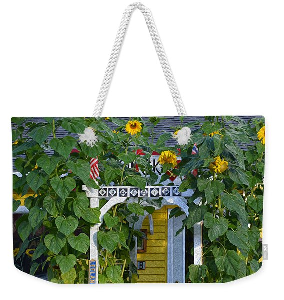 Sunflower Roads Weekender Tote Bag