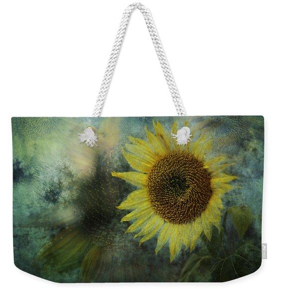 Sunflower Sea Weekender Tote Bag