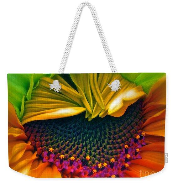 Sunflower Smoothie Weekender Tote Bag