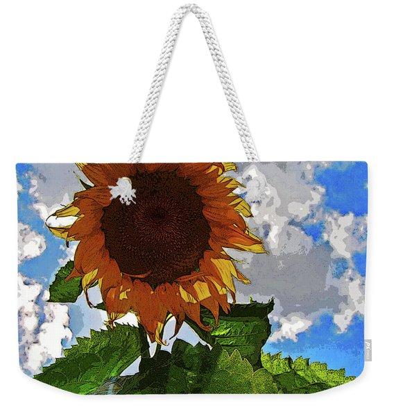 Sunflower Staring You In The Eye Weekender Tote Bag