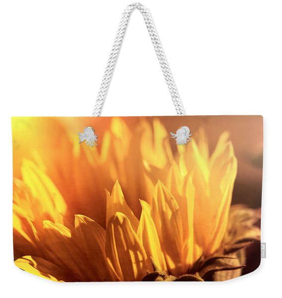 Sunflower To The Sky Weekender Tote Bag