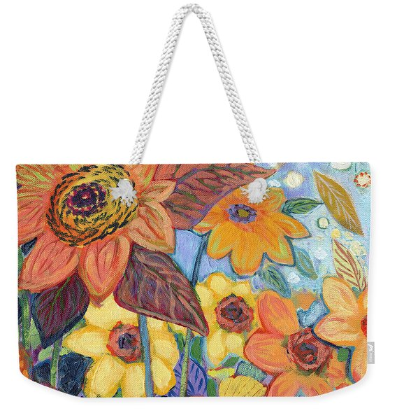 Sunflower Tropics Part 1 Weekender Tote Bag
