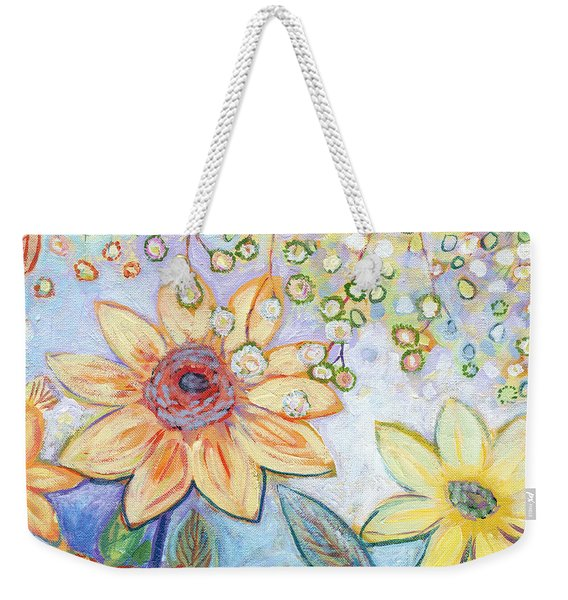 Sunflower Tropics Part 2 Weekender Tote Bag