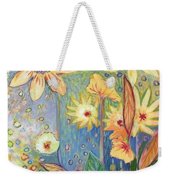 Sunflower Tropics Part 3 Weekender Tote Bag