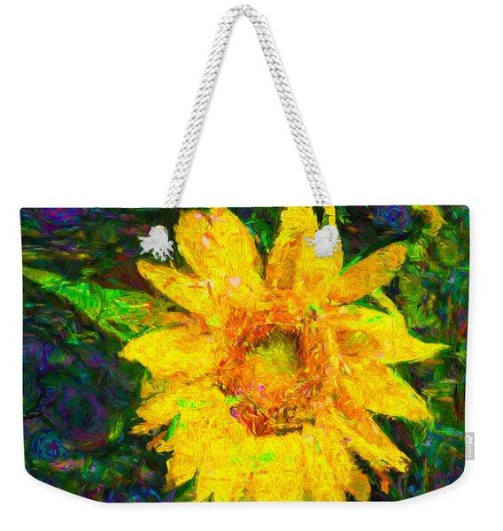 Sunflower Van Gogh Weekender Tote Bag