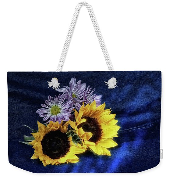 Sunflowers And Daisies Weekender Tote Bag