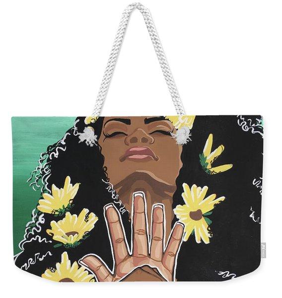 Sunflowers And Dashiki Weekender Tote Bag
